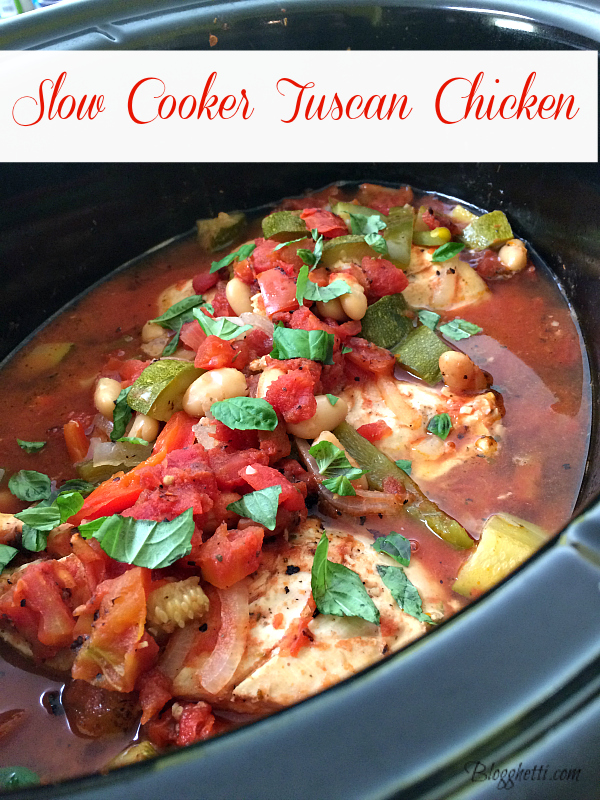Slow-Cooker Tuscan Chicken