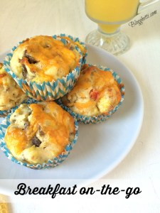 Back to School:  Breakfast on-the-Go Muffins (and a Giveaway)