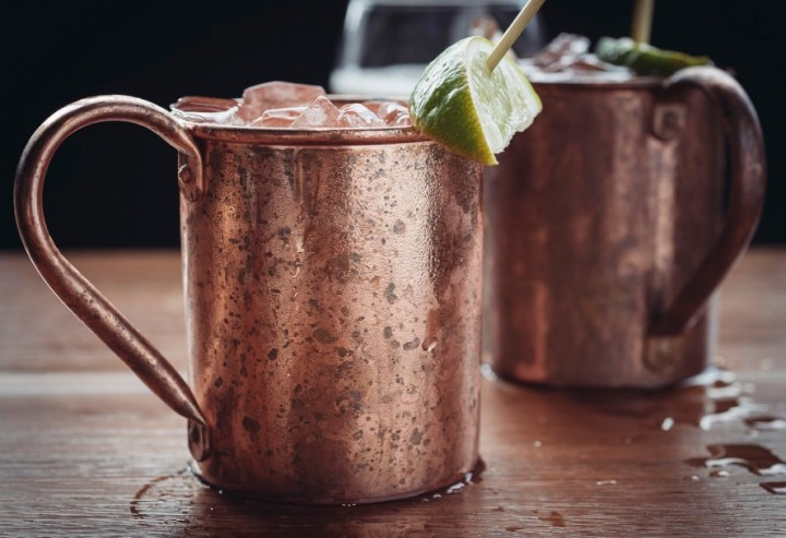The Moscow Mule is a delicious drink made with vodka, ginger beer, and lime. The spiciness of the ginger makes it a perfect holiday beverage