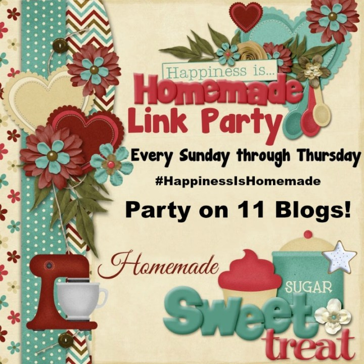 Happiness is Homemade Link Party