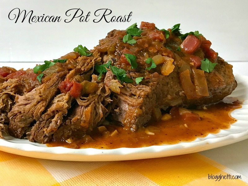 This incredibly moist Mexican Pot Roast is full of the spicy flavors that your family will sure to love. If you have leftovers, the beef can be shredded and used in tacos, burritos, and more!