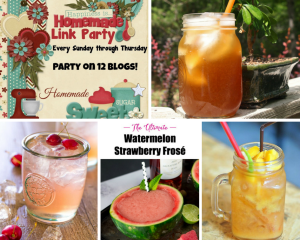 Happiness is Homemade: Summertime Drinks