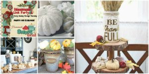 Happiness is Homemade: Autumn Home Decor Projects