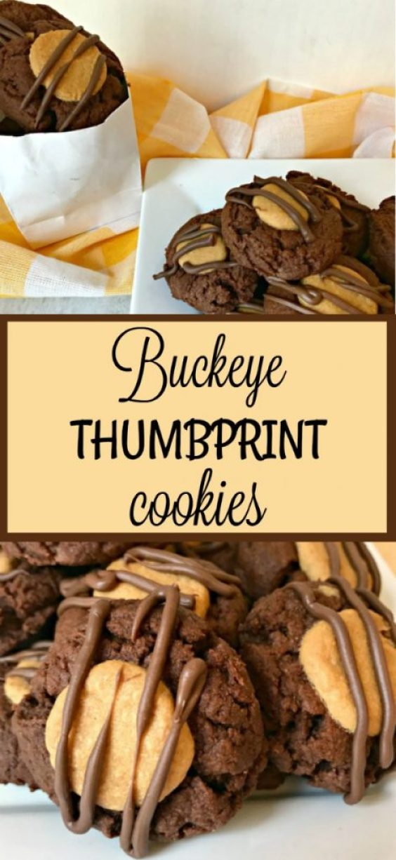 Buckeye Thumbprint Cookies Delicious