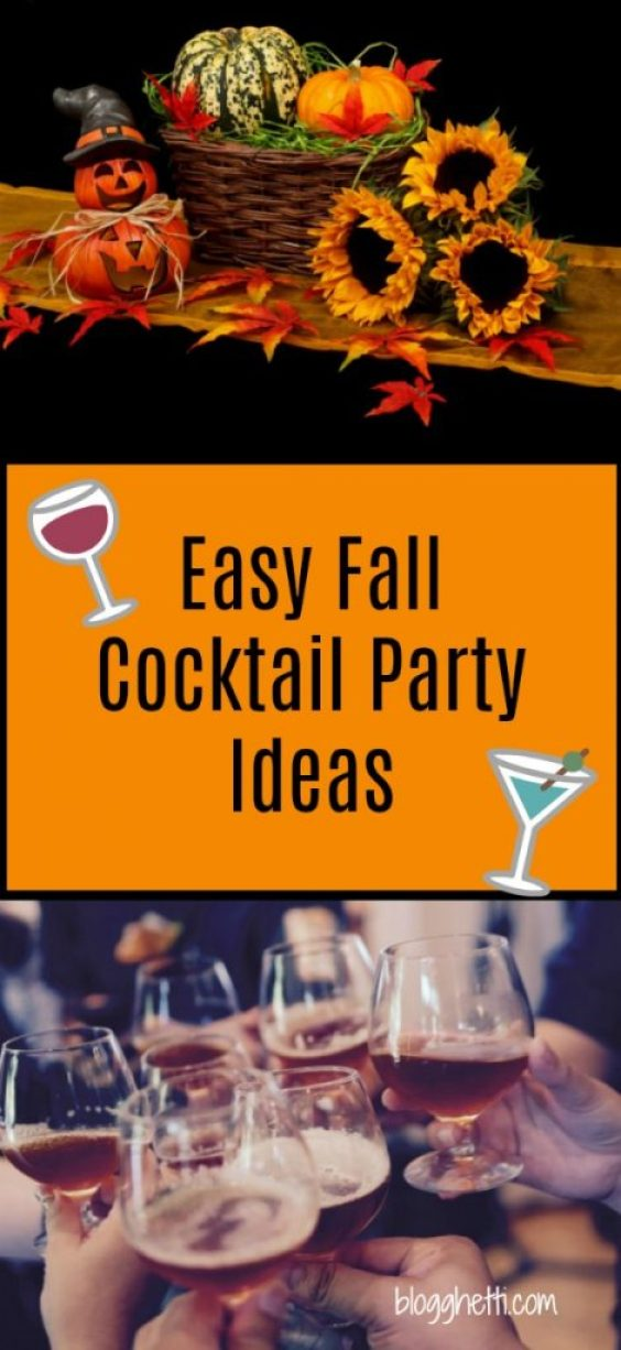 Easy Fall Cocktail Party Ideas
