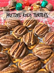 Pretzel Rolo Turtles