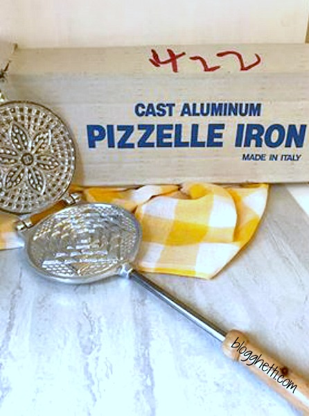 Classic Italian Pizzelles are delicate, thin, crisp, and wafer-like cookies. They are lightly sweet with plenty of the traditional anise flavor but vanilla pizzelles are just as delicious, if you're not a fan of anise.