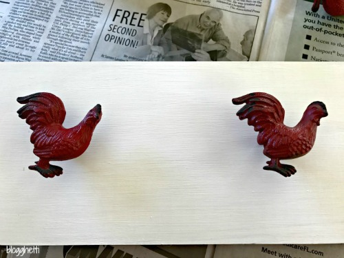 Rooster Wall Hook Rack
