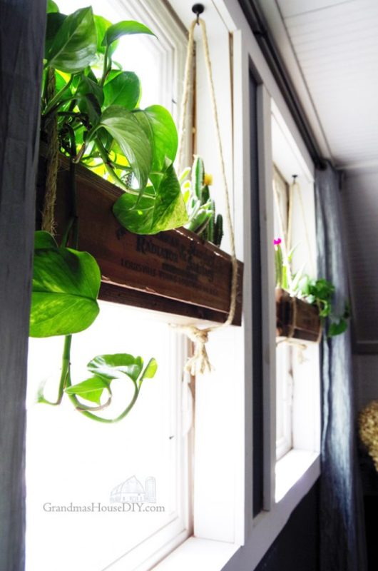 Hanging Flower boxes