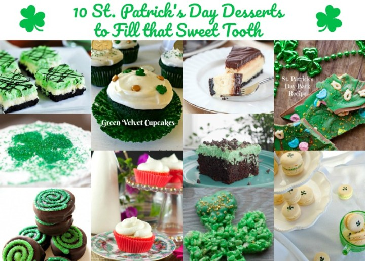 10 St. Patrick's Day Desserts to Fill that Sweet Tooth