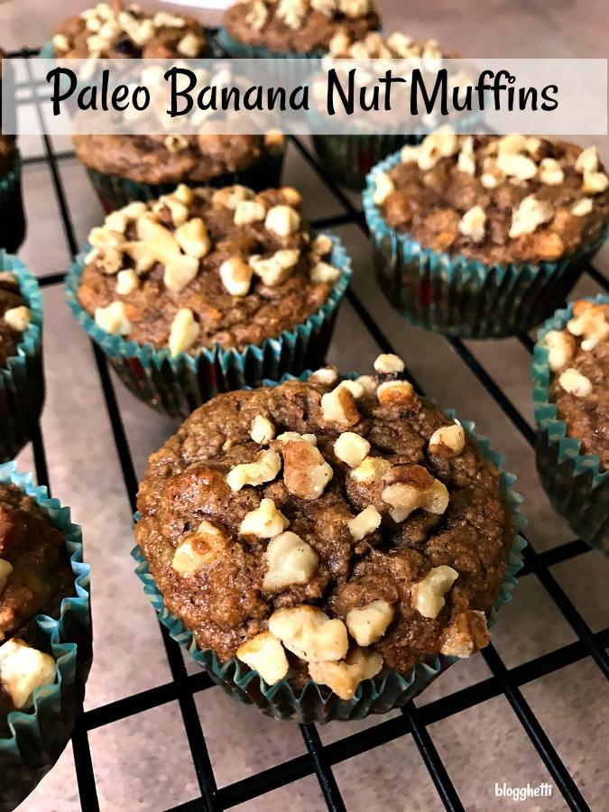 Paleo Banana Nut Muffins