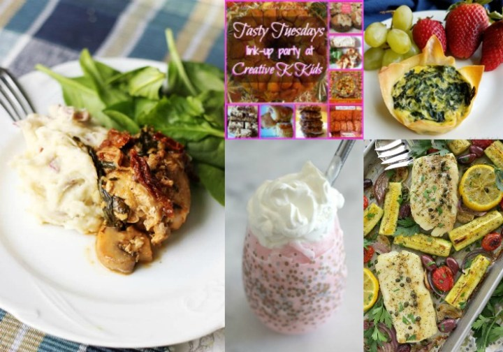 Tasty Tuesdays' Link Party features May 8