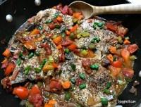 Braised Tuscan Pork Chops #Paleo and #GlutenFree