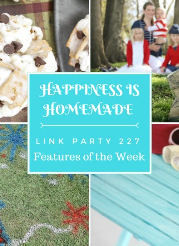 Happiness is Homemade Link Party features