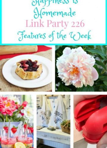 Share your DIY, recipe, home decor, gardening posts #linkparty #happiessishomemade
