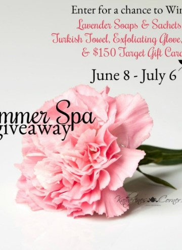 Summer Spa #Giveaway