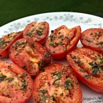 Garlic-Grilled Tomatoes