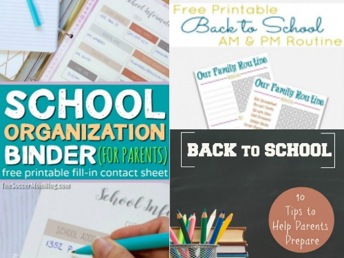 17 Awesome Back to School Organizing Strategies plus Printables-2