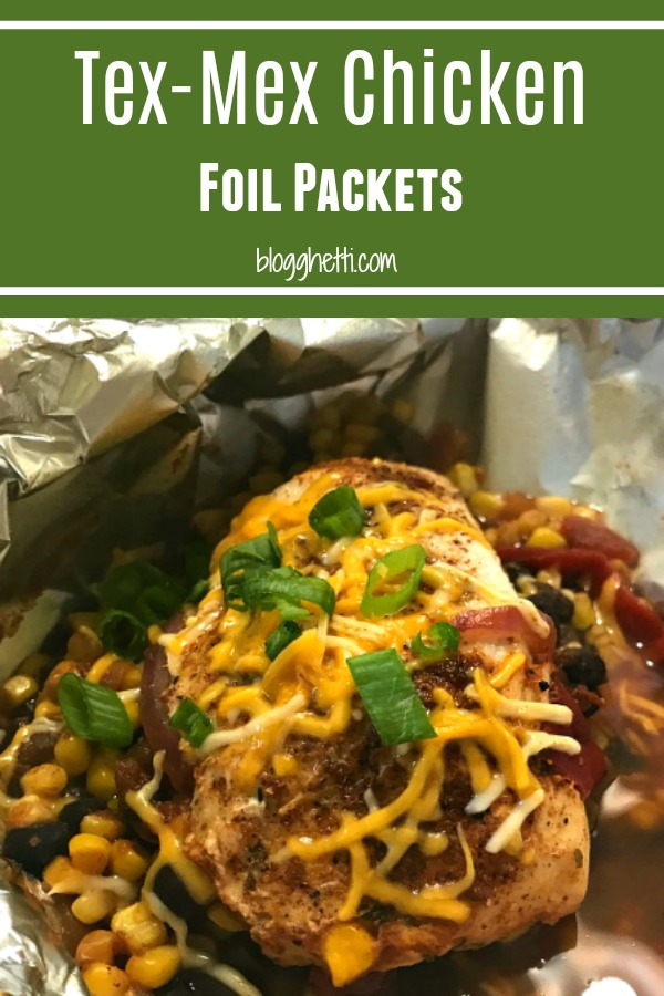 Tex-Mex Chicken Foil Packets