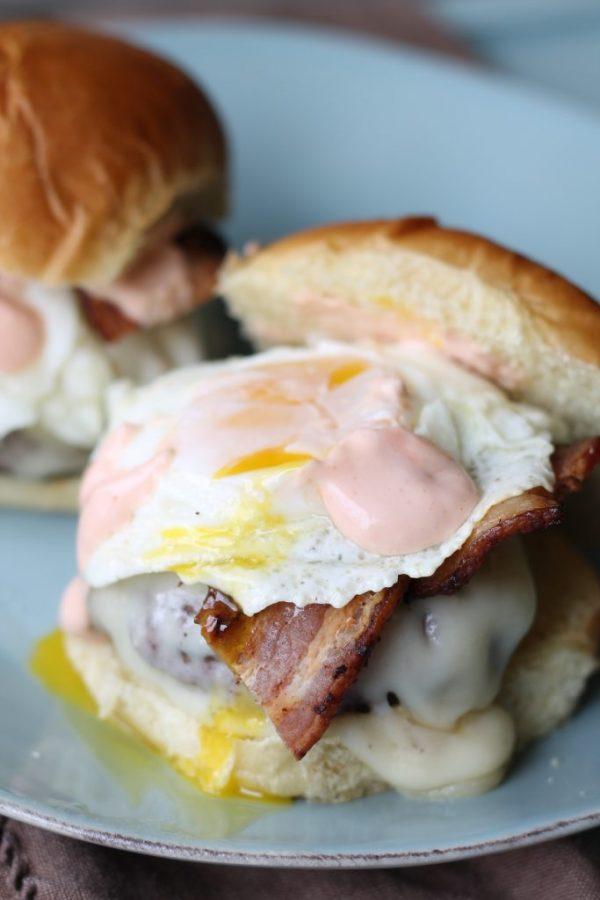 Good Morning Breakfast Burger