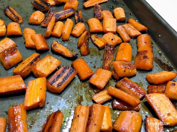 Honey Roasted Carrots (Paleo)