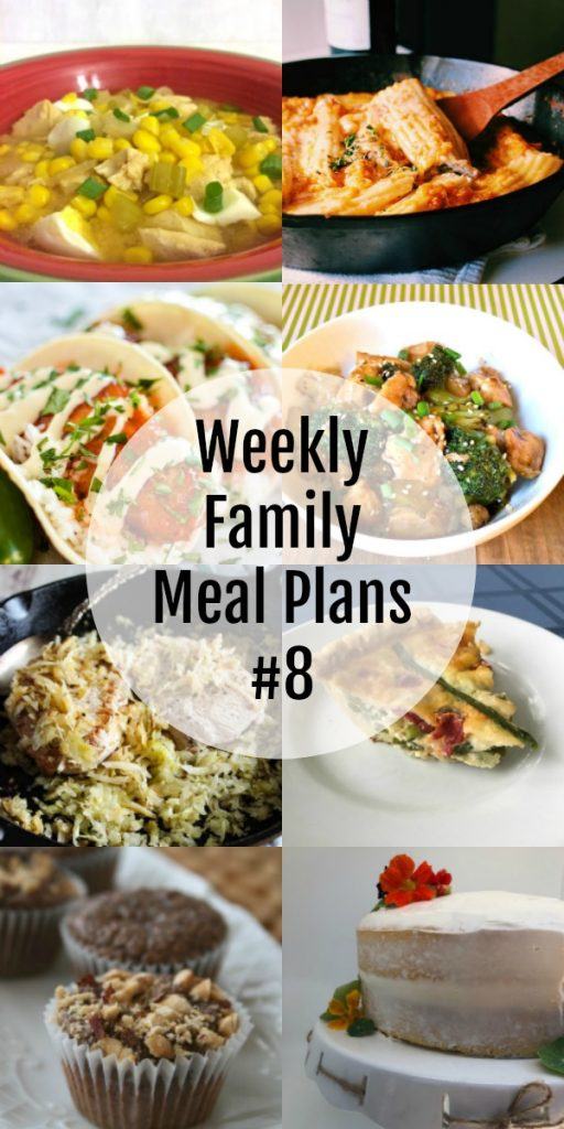 Weekly Family Meal Plans #8
