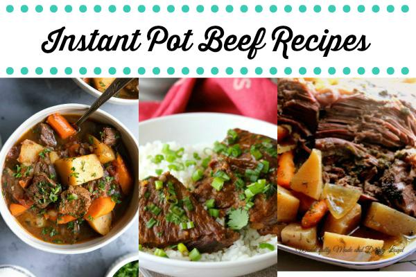 Instant Pot Beef Recipes
