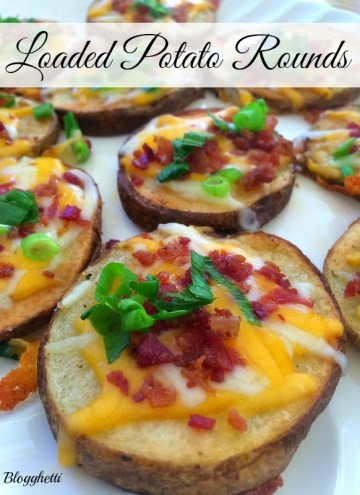 Loaded Potato Rounds