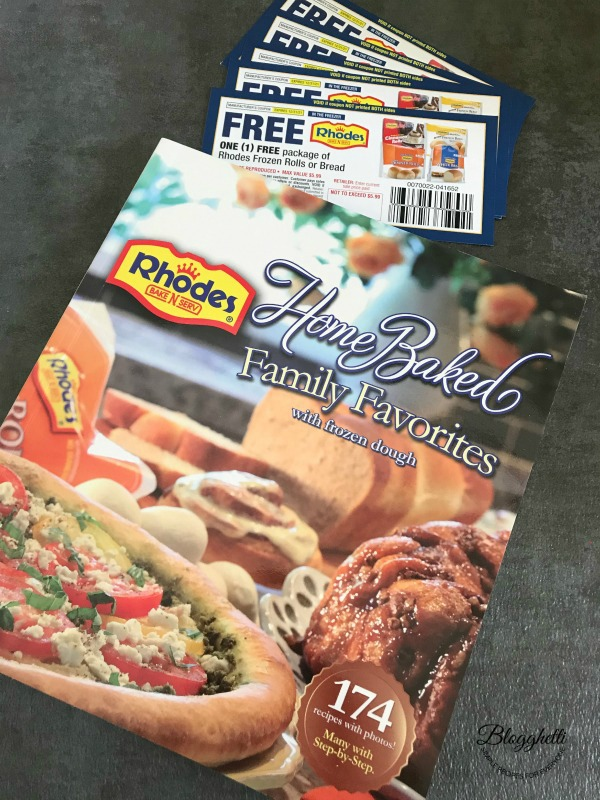 Rhodes - coupons and cookbook