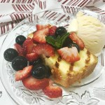 Grilled Pound Cake with Fresh Berries - feature