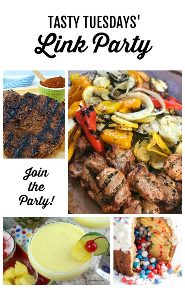 Tasty Tuesdays' Link Party features May 14