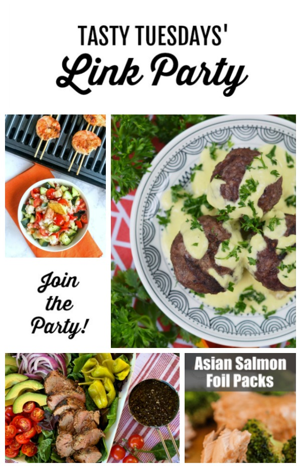 Tasty Tuesdays' link party features of the week