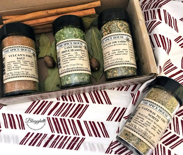 The Spice House spices gift set of best sellers