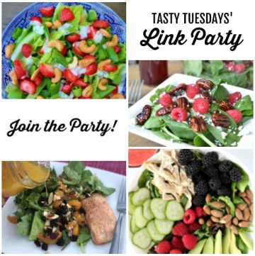 Tasty Tuesdays' Link Party features for August 6 square