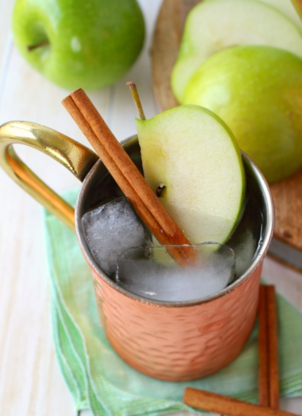 Apple Ginger Moscow Mule
