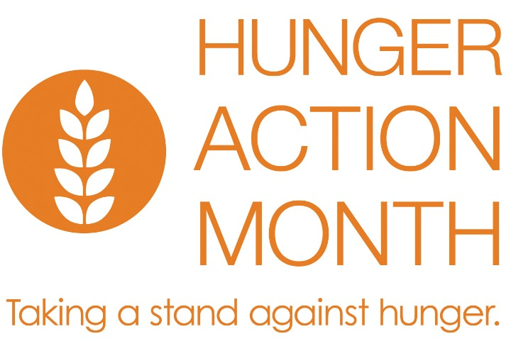 poster for Hunger Action Month