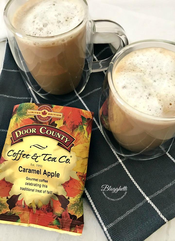 Door County Coffee - Vanilla Caramel Apple Lattes