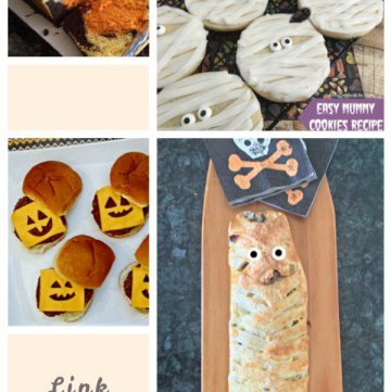 Tasty Tuesdays' Link Party features of the week collage