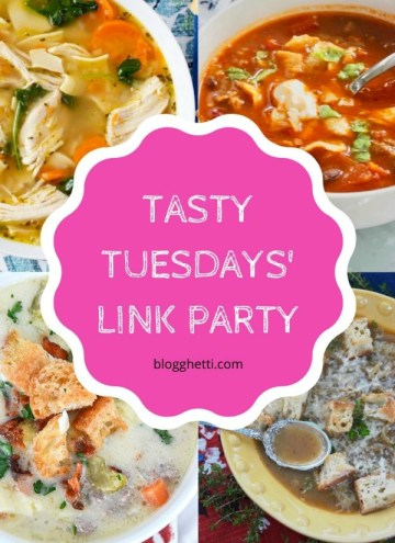 Jan 21 Tasty Tuesdays' Link Party Features