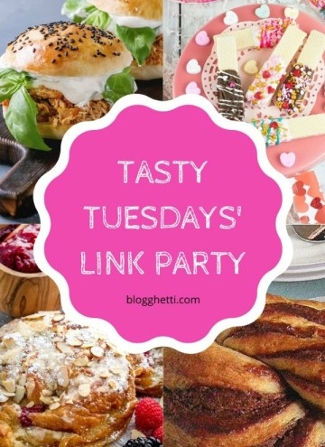 Feb 4 Tasty Tuesdays' Link Party features collage