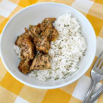 Oven baked chicken bites