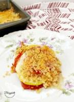 Tomato and squash casserole