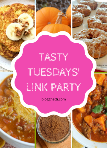 Sept 22 Tasty Tuesdays features collage with text overlay