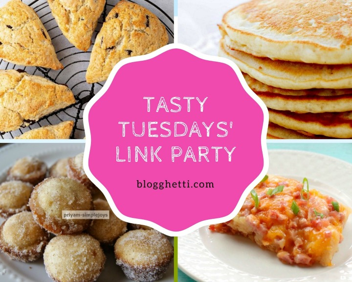 Sept 8 Tasty Tuesdays features with text overlay