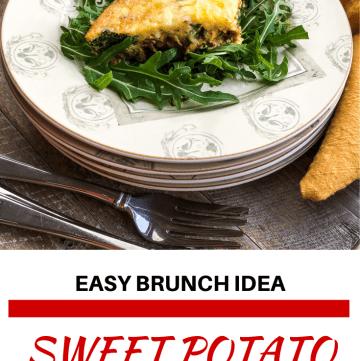 delicious Sweet Potato Oven Baked Frittata