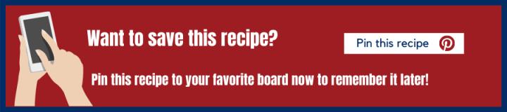 pinterest banner to pin recipe