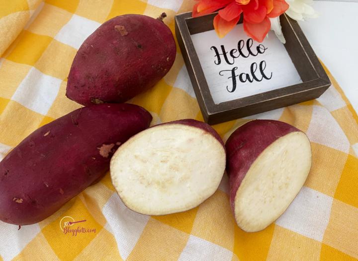 garnet sweet potatoes from Melissa's Produce