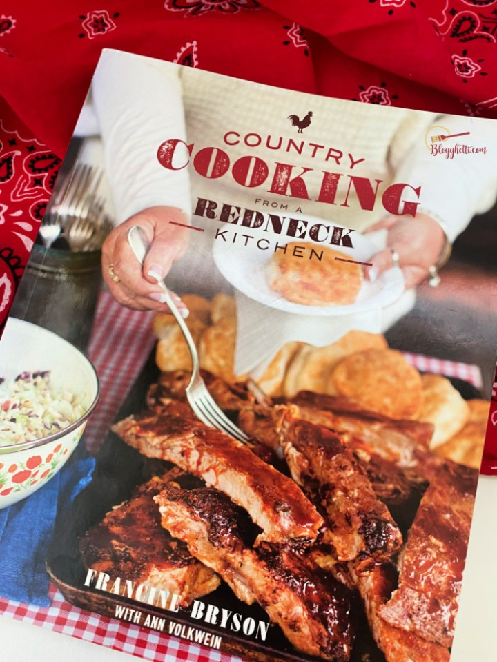 country cooking from a redneck kitchen cookbook cover