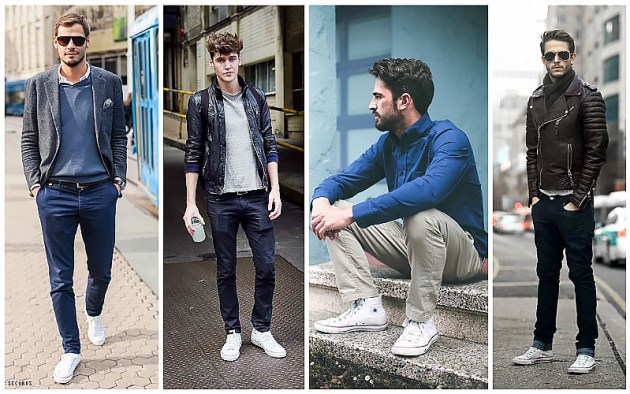 White-High-Top-Converse-Sneakers