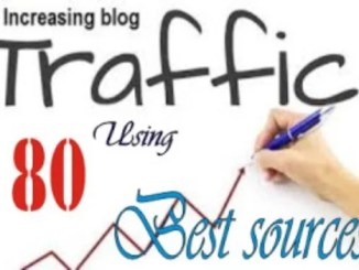 Blogging Tips to Increase Blog Traffic From 80 Best Sources